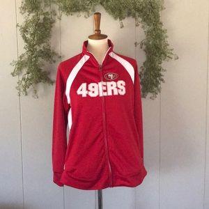 NFL TEAM APPAREL 49ers San Francisco Track Jacket